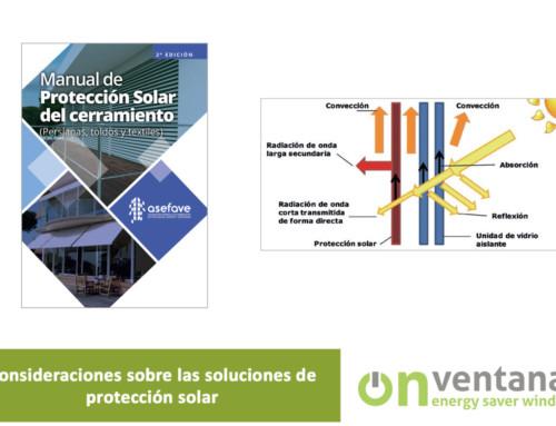 Consideraciones sobre las soluciones de protección solar