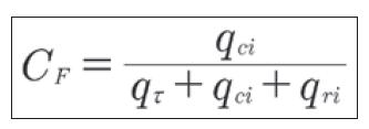 Flujos convección fórmula