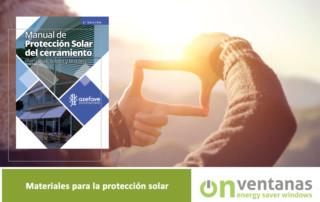 Materiales protección solar