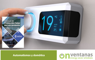 Automatismos domótica ventanas