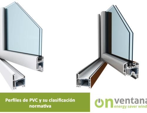 Perfiles de PVC y su clasificación